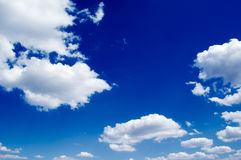 The blue sky Royalty Free Stock Photos