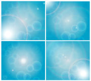 Blue-sky. This is a background blue-sky . Vector for eps10 Royalty Free Stock Photos