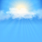 Blue sky abstract background Royalty Free Stock Images