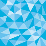 Blue sky abstract background of triangles Royalty Free Stock Photo