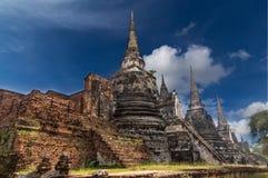 Wat Phra Si Sanphet Authaya, Thailand Stock Image