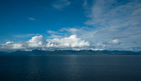 Blue sky Alaska Royalty Free Stock Image