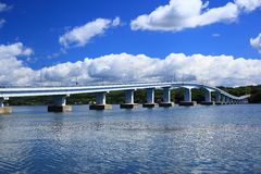 Free Blue Sky And Bridge Stock Image - 48684041