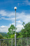 Blue Sky And Lamp Royalty Free Stock Images