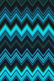 Blue sky, aquamarine, blue-green, sea-green, turquoise. Chevron zigzag pattern abstract art background. Color trends vector illustration