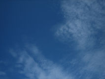 Blue sky 1 stock photos