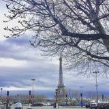 Eiffel Tower landmark - Paris France -. Eiffel Tower in stock images