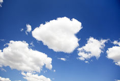 Blue sky for background Stock Photography