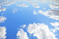 Blue sky for background Stock Images