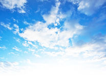 Blue sky background Royalty Free Stock Photo