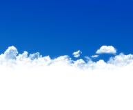 Blue sky background Stock Photos