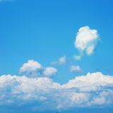 Blue sky background Royalty Free Stock Photography