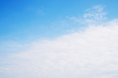 Blue sky. Background stock images