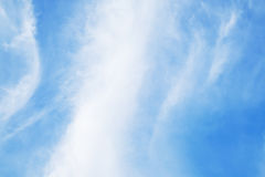 Blue sky. Background stock photo
