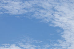 Blue sky background with cloud Stock Photo