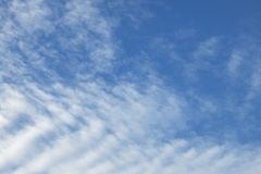 Blue sky background with cloud Royalty Free Stock Photography