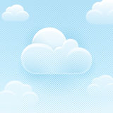 Blue Sky Background With Clouds Royalty Free Stock Images