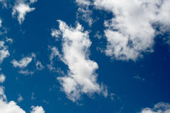 Blue sky background Royalty Free Stock Photos