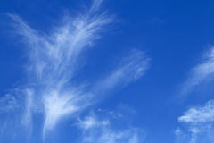 Blue sky background. Royalty Free Stock Images