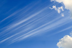 Blue sky background. Stock Photos