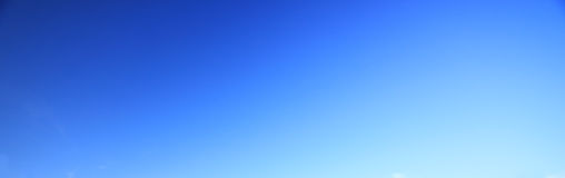 Blue sky background no cloud. Royalty Free Stock Image