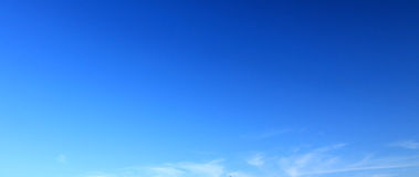 Blue sky background. Royalty Free Stock Photos