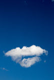 Blue sky background with white clouds. In concept peaceful and freedom life. skyscape for yoka and zen Stock Photography