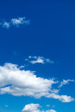 Blue sky background with white clouds vertical image. Blue sky background with white clouds in concept peaceful and freedom life. skyscape for yoka and zen royalty free stock images