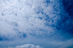 Blue sky with beautiful cloud Stock Photos