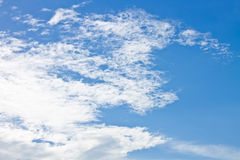 Blue sky, beautiful in nature Royalty Free Stock Photo