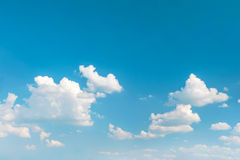 Blue sky. Beautiful nature background. Environment concept Royalty Free Stock Image