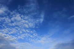 Blue sky. Always a beautiful blue sky in Thailand royalty free stock photo