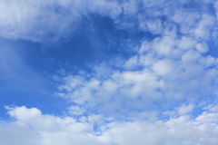 Blue sky. Always a beautiful blue sky in Thailand Royalty Free Stock Image