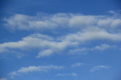 Blue sky. Always a beautiful blue sky in Thailand royalty free stock photography