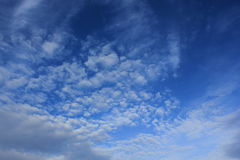 Blue sky. Always a beautiful blue sky in Thailand stock photos