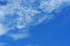 Blue sky. Royalty Free Stock Photos