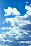 Blue sky of bogota stock photos