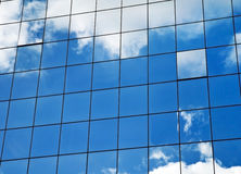 Blue sky and building. It can be used as a background Stock Photos