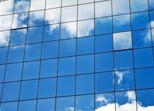 Blue sky and building Stock Photos