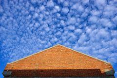 Blue sky and building Royalty Free Stock Photography