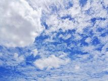 Blue Sky. Clear Sky & Cloud Stock Images