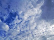 Blue Sky. Clear Sky & Cloud Royalty Free Stock Image