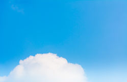 blue sky in the clear sky day image background. Royalty Free Stock Images