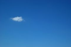 Blue sky and cloud Royalty Free Stock Photos