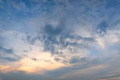 Cloud - sky sunset or sunrise backgrounds beauty in Nature. Cloud - sky sunset or sunrise backgrounds beauty in Nature stock image