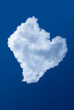 Blue sky and cloud. Blue sky and a cloud Royalty Free Stock Photos