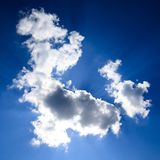 Blue sky with cloud Royalty Free Stock Photos