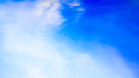Blue Sky. And Cloud Background Royalty Free Stock Image