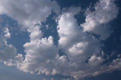 Blue sky and cloud Royalty Free Stock Images
