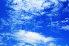 Blue sky with cloud. Background royalty free stock photo
